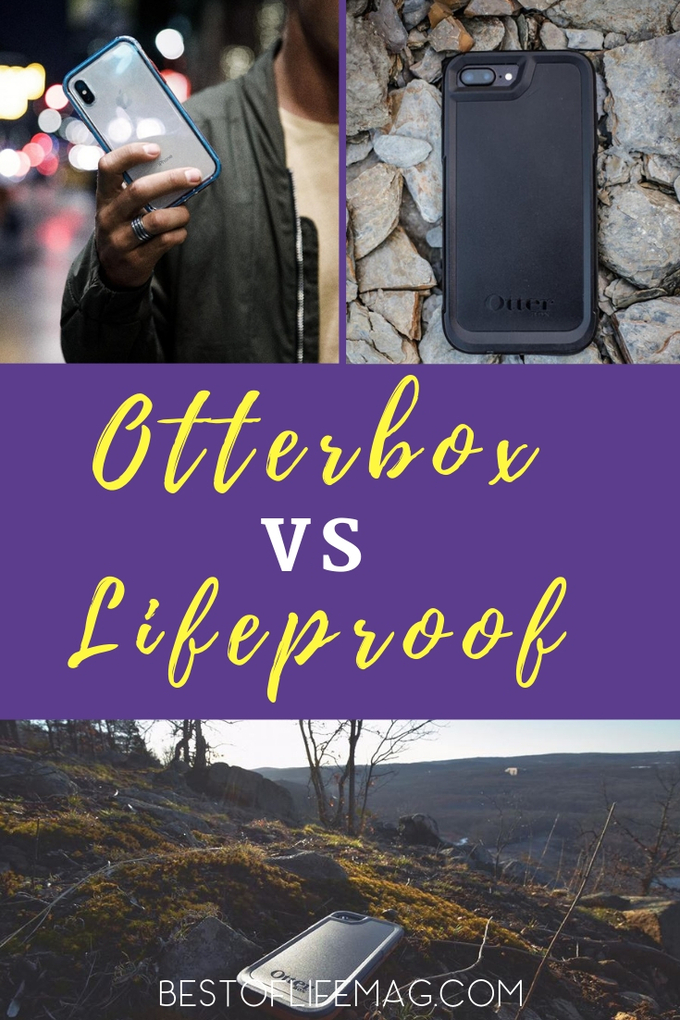 Otterbox Pursuit vs Lifeproof is the best way to find out what the differences are between the best cell phone cases and which case is best to protect your phone. Otterbox Pursuit Case Review | Otterbox Case Reviews | Lifeproof Case Review | Lifeproof Case vs Otterbox Case | Lifeproof vs Otterbox #otterbox #lifeproof via @amybarseghian