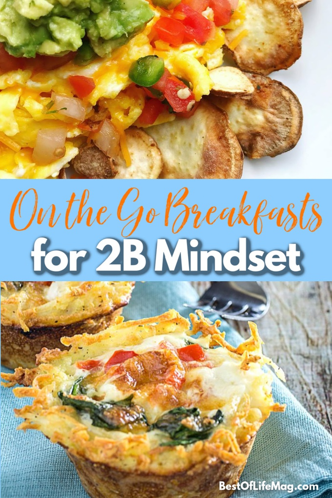 There is no need to rush to make sure you have a healthy breakfast, you can just use 2B Mindset on the go breakfast recipes to keep yourself fueled. 2B Mindset Recipes | 2B Mindset Breakfast Recipes | Healthy Recipes | Weight Loss Recipes | Breakfast Recipes #2BMindset #weightloss via @amybarseghian