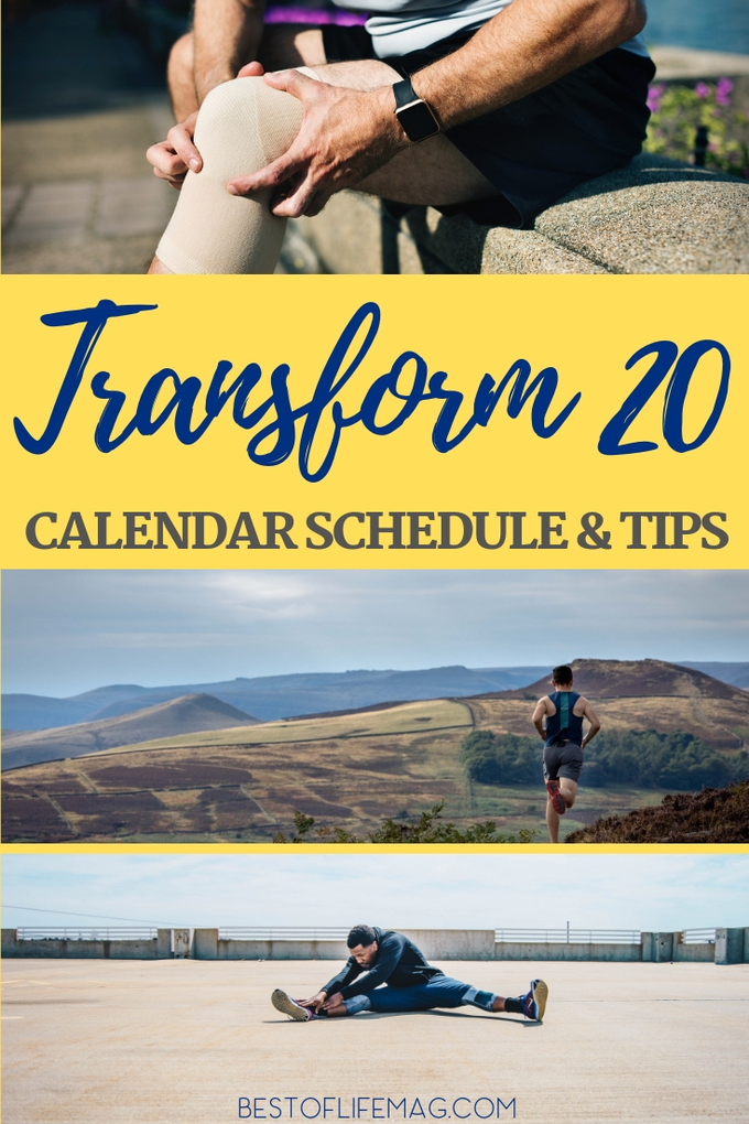 The Transform 20 calendar shows you when to do each workout. Combine this with our Transform 20 Workout Tips to ensure you get the optimal results for your body! Workout Ideas | At Home Workouts | Transform 20 Tips | Beachbody Workouts | Beachbody OnDemand #beachbody #fitness