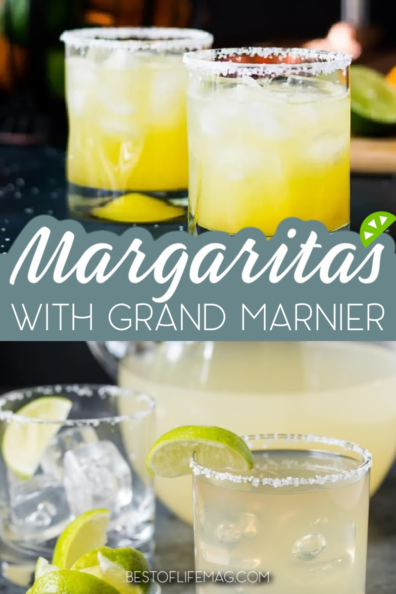 Whether you want a Cadillac Margarita or to just add a little flavor (or alcohol) to your margarita, these margarita recipes with Grand Marnier are perfect! Margarita Recipes with Cognac | Margarita Ideas | Cognac Cocktail Recipes | Drink Recipes | Happy Hour Recipes | Cinco de Mayo Cocktails | Cocktail Recipes for Parties | Grand Marnier Recipes | Cocktails with Grand Marnier #margaritarecipes #cocktailrecipes via @amybarseghian