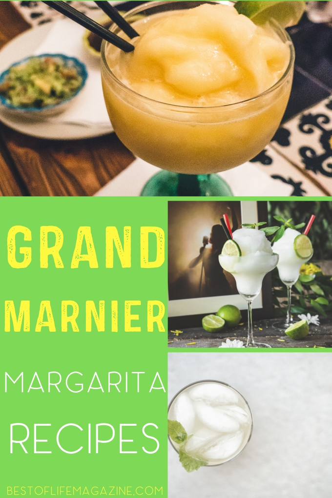Whether you want a Cadillac Margarita or to just add a little flavor (or alcohol ) to your margarita, these margarita recipes with Grand Marnier are perfect! Margarita Recipes with Cognac | Margarita Ideas | Cognac Cocktail Recipes | Drink Recipes | Happy Hour Recipes #margarita #recipes via @amybarseghian