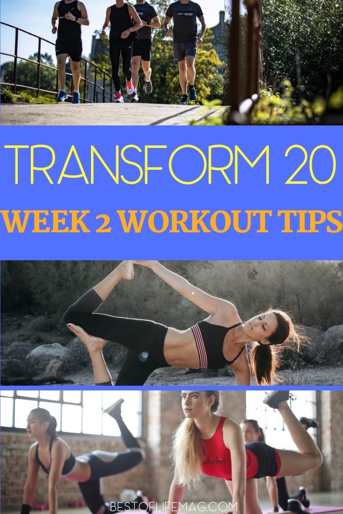 Make your way through Transform 20 week 2 by understanding the plan and utilizing tips to make the most of your Beachbody workouts. Transform 20 Tips | Transform 20 Review | Transform 20 Ideas | At-Home Workouts | Beachbody Workouts | Shawn T Workouts #beachbody #transform20 via @amybarseghian