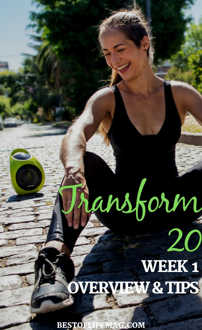 Commit to Transform 20 week 1 and let the progress you can make help propel you through the rest of the workouts and reach your fitness goals. Beachbody Workouts | Transform 20 Tips | Transform 20 Review | Transform 20 Workouts #beachbody #transform20