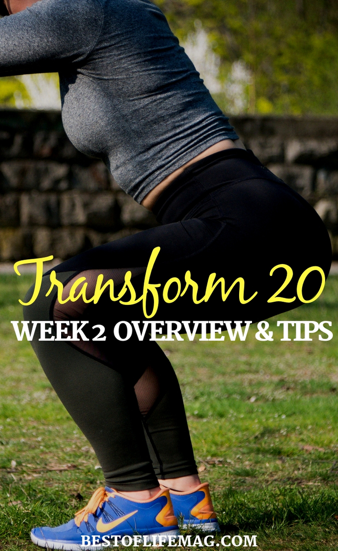Make your way through Transform 20 week 2 by understanding the plan and utilizing tips to make the most of your Beachbody workouts. Transform 20 Tips | Transform 20 Review | Transform 20 Ideas | At-Home Workouts | Beachbody Workouts | Shawn T Workouts #beachbody #transform20