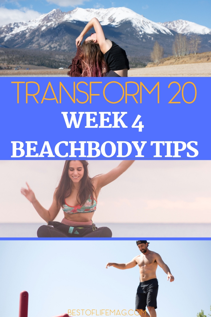 Get ready because we are turning up the heat with Transform 20 Week 4 workouts and tips to succeed and reach your fitness goals. Transform 20 Tips | Transform 20 Review | Transform 20 Ideas | At-Home Workouts | Beachbody Workouts | Shawn T Workouts #beachbody #transform20 via @amybarseghian