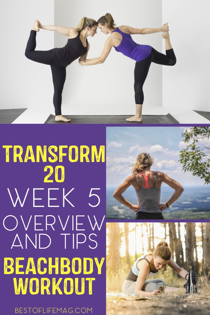 You've made it to Transform 20 Week 5 workouts and that means there is a lot to prep for as we near the end of your health and fitness transformation. Transform 20 Tips | Transform 20 Review | Transform 20 Ideas | Transform 20 Week 5 | At-Home Workouts | Beachbody Workouts | Shawn T Workouts #beachbody #transform20 via @amybarseghian