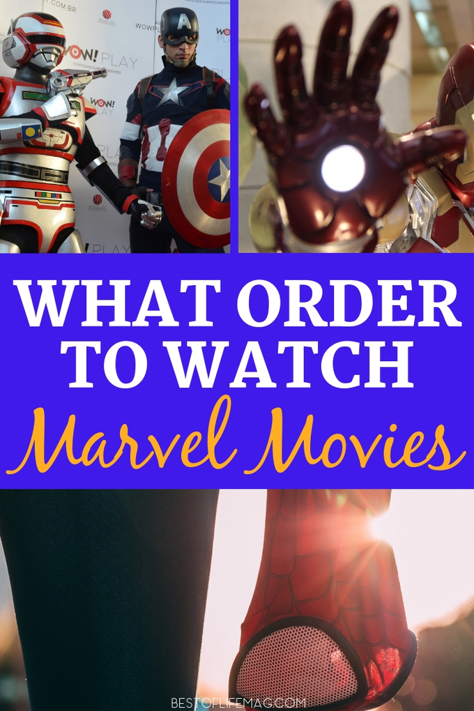 When you want to know what order to watch the Marvel movies in, we have the answer.