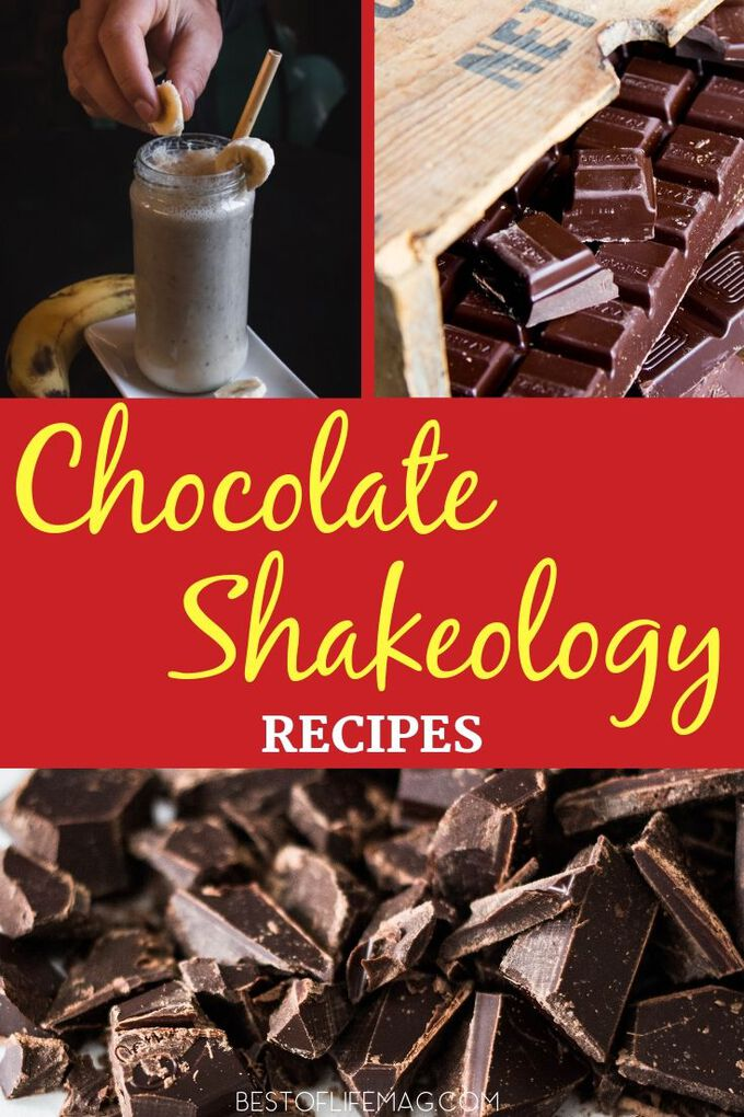 Get a jump start on your day of weight loss with Beachbody chocolate Shakeology recipes that beat that sweet tooth and still remain healthy. Beachbody Recipes | Weight Loss Recipes | Weight Loss Tips | Shakeology Ideas | Healthy Shake Recipes | Meal Replacement Shakes #weightloss #shakeology via @amybarseghian