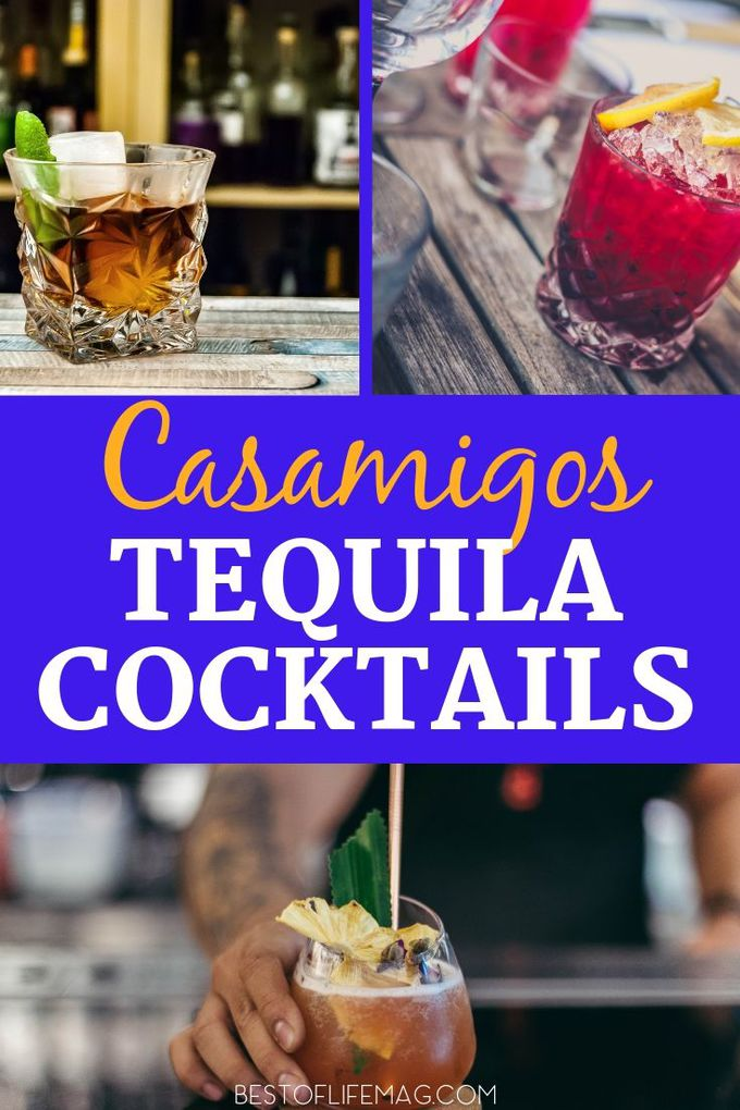 Grab a bottle of Casamigos Anejo and use it to make some of the best Casamigos Anejo recipes for cocktails during your next party or happy hour. Tequila Recipes | Tequila Cocktail Recipes | Cocktail Recipes | Happy Hour Recipes | Drink Recipes #cocktails #recipes via @amybarseghian