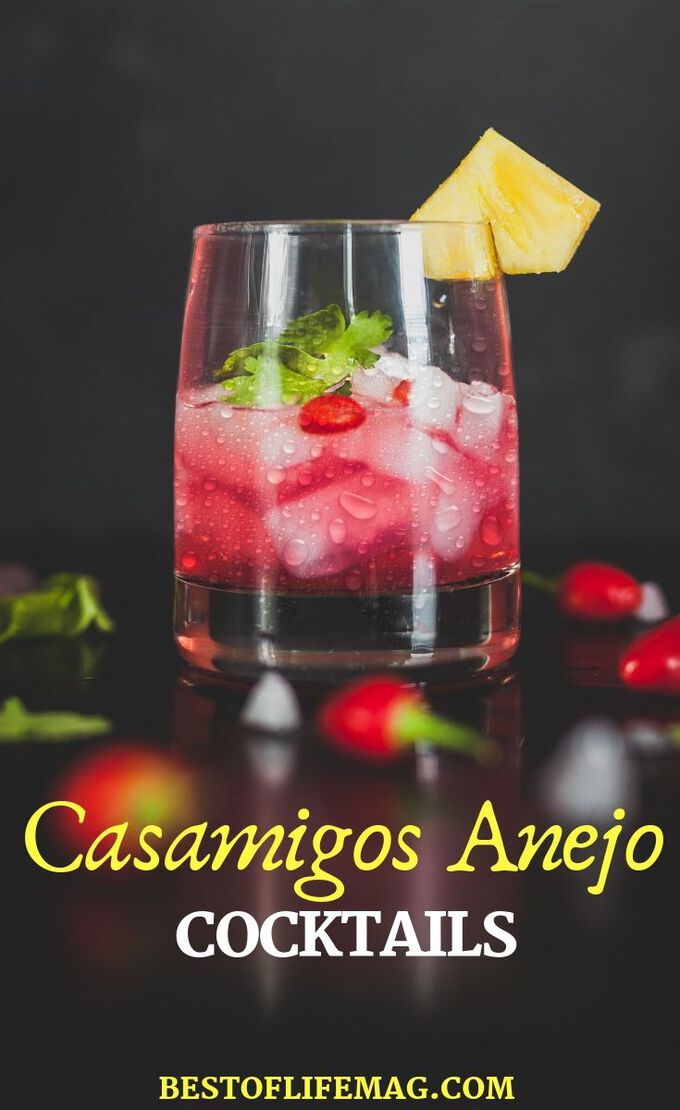 Grab a bottle of Casamigos Anejo and use it to make some of the best Casamigos Anejo recipes for cocktails during your next party or happy hour. Tequila Recipes | Tequila Cocktail Recipes | Cocktail Recipes | Happy Hour Recipes | Drink Recipes #cocktails #recipes