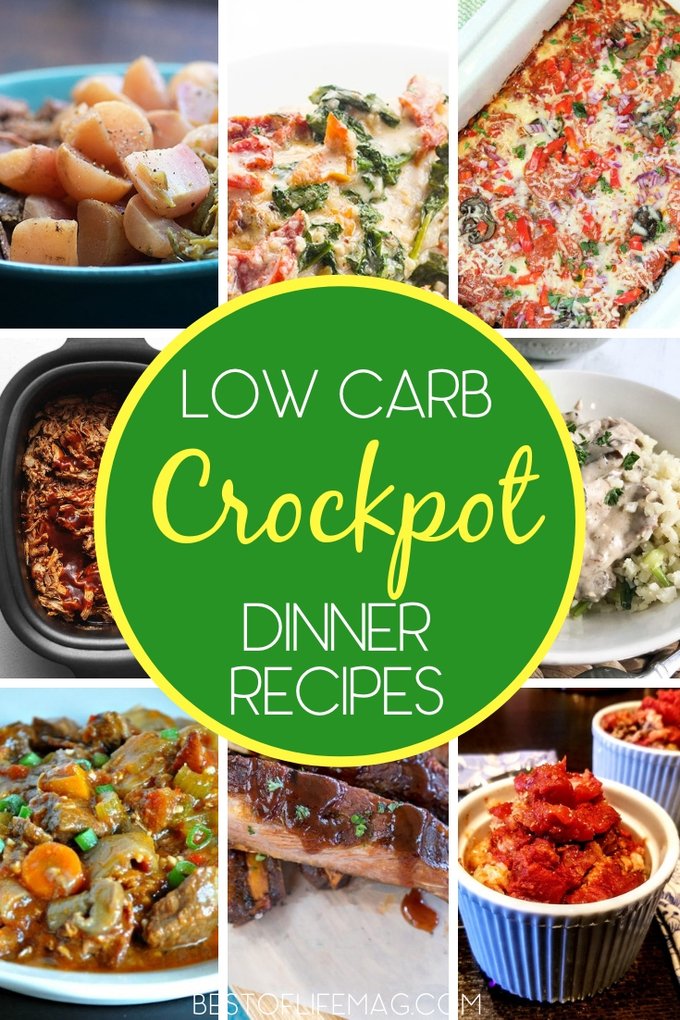 These low carb crockpot recipes for dinner prove that healthy meals, shared with a family or a crowd can be easy and delicious. Low Carb Recipes | Keto Recipes | Low Carb Slow Cooker Recipes | Keto Crockpot Recipes | Healthy Recipes | Healthy Crockpot Recipes | Healthy Slow Cooker Recipes #lowcarb #crockpot