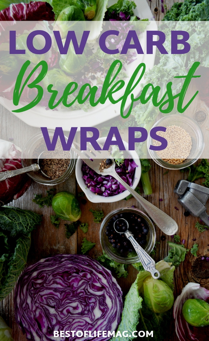 These low carb healthy breakfast wraps are perfect for morning or really anytime you need a quick and easy healthy meal. Healthy Breakfast Recipes | Healthy Wrap Recipes | Low Carb Breakfast Recipes | Keto Breakfast Recipes | Low Carb Recipes | Keto Recipes #lowcarb #recipe