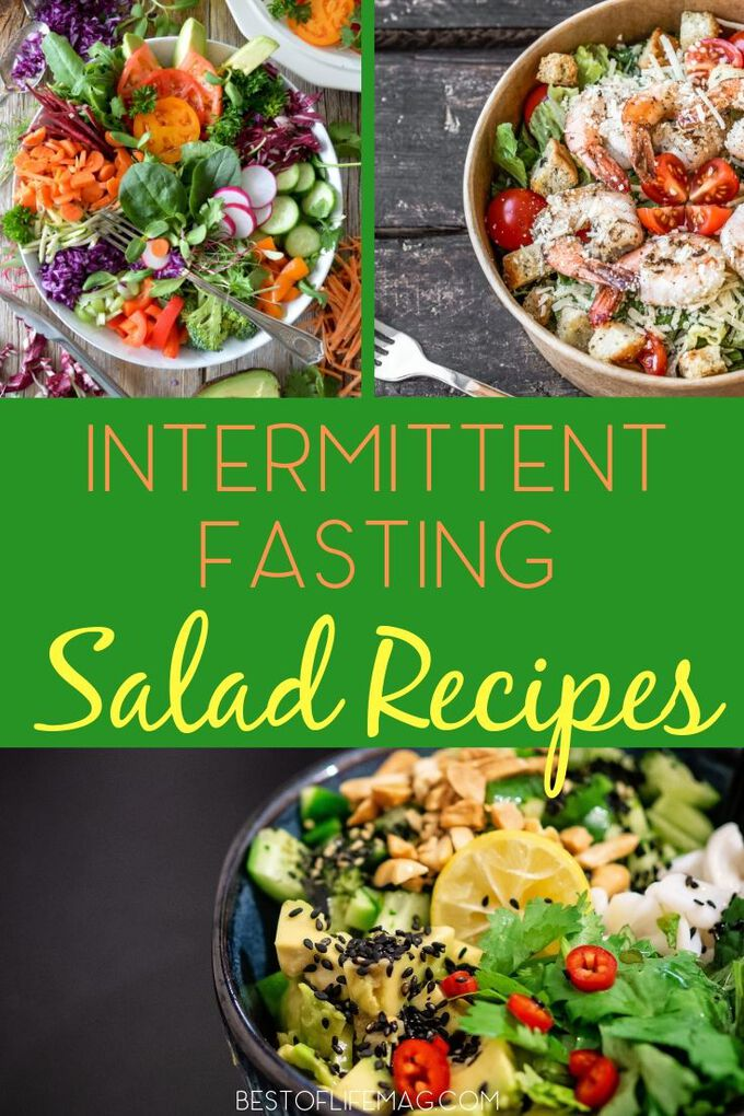 Take advantage of the best healthy salad recipes for intermittent fasting that will help keep you healthy, losing weight, and feeling great. Intermittent Fasting Recipes | Recipes for Intermittent Fasting | Weight Loss Recipes | Healthy Recipes | Easy Recipes | IF Recipes | Healthy Dinner Recipes #weightloss #recipes via @amybarseghian