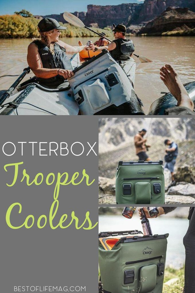Otterbox Trooper Coolers make bringing food and drinks with you wherever you travel not only easier, but cooler as well. Best Otterbox Products | Otterbox Trooper Cooler Ideas | Camping Tips | Boating Tips | Road Trip Tips #otterbox #travel