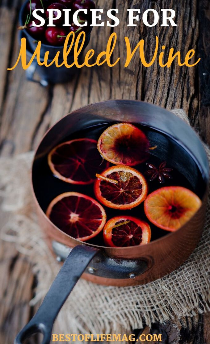 Make easy and delicious mulled wine recipes with these warm wine recipe spices that will enhance the flavors. Wine Recipes   Fall Recipes   Fall Drink Recipes   Mulled Wine Recipes   Spiced Wine Recipes   Crockpot Recipes #recipes #wine