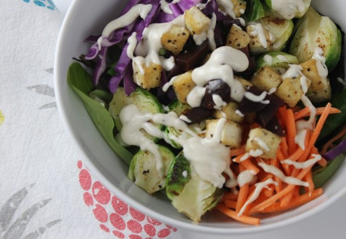Open your refrigerator and with a little creativity, you probably have the makings of a 2B Mindset Buddha Bowl with dairy-free sauce already! What is a Buddha Bowl | What is a Hippie Bowl | What is a Buddha Salad | How to Make a Buddha Bowl | Are Buddha Bowls Vegan | Dairy Free Buddha Bowl Recipes