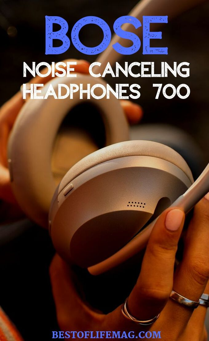 Don't worry about outside noise ruining your music or your latest podcast episode with the new Bose Noise Cancelling headphones 700. Best Noise Cancelling Headphones | Travel Tips | Music Tips | Technology Tips #bose #headphones