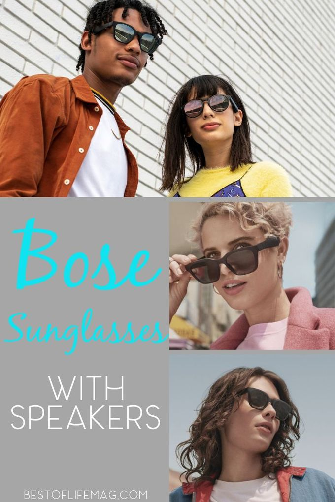 Bose sunglasses with speakers come in two different models, Alto and Rondo, both with amazing sound and seamless Bluetooth connectivity. Tech Ideas | Tech Products | Bose Sunglasses Review | Bose Sound | How to Use Bose Sunglasses | Bluetooth Speaker Tips #bose #sunglasses