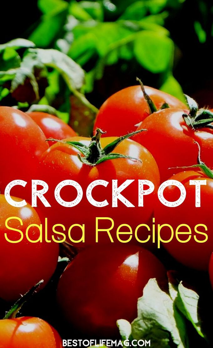 Make a real salsa and not a pico de gallo with the best crockpot salsa recipes without onions that will pair well with any tortilla chip. Slow Cooker Salsa Recipe | Healthy Salsa Recipe | Homegrown Salsa Recipe | DIY Salsa | Taco Tuesday Recipes #salsa #recipe