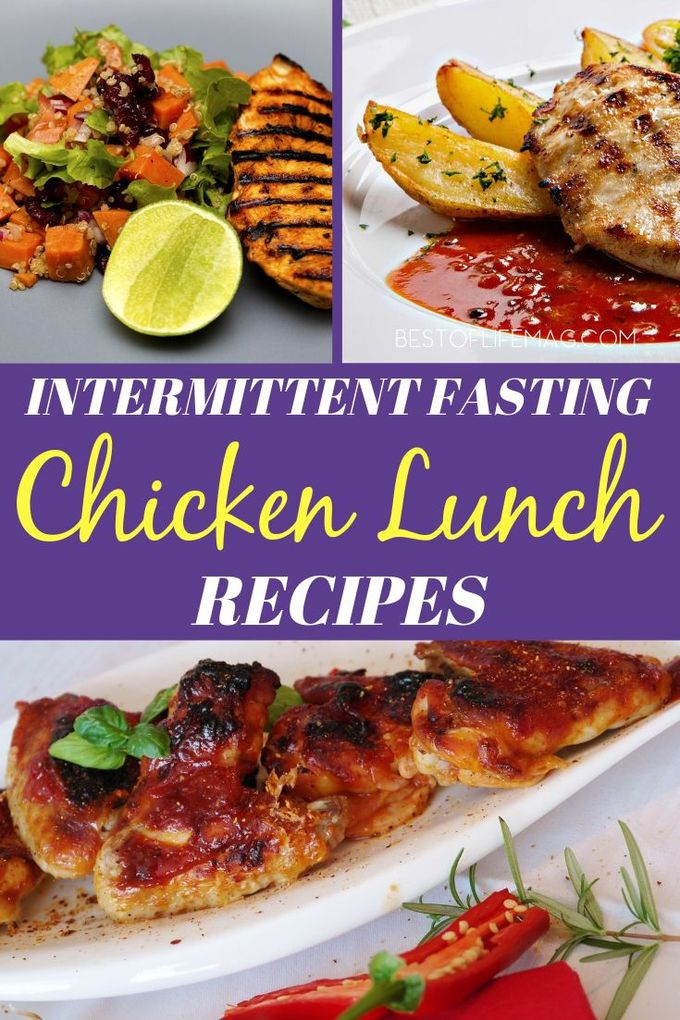 Intermittent Fasting lunch recipes with chicken can help you stay on track with your weight loss goals and keep your meals exciting while fasting. Intermittent Fasting Recipes | Weight Loss Recipes | Weight Loss Lunch Recipes | Healthy Lunch Recipes | Healthy Chicken Recipes | Easy Lunch Recipes #intermittentfasting #recipes via @amybarseghian