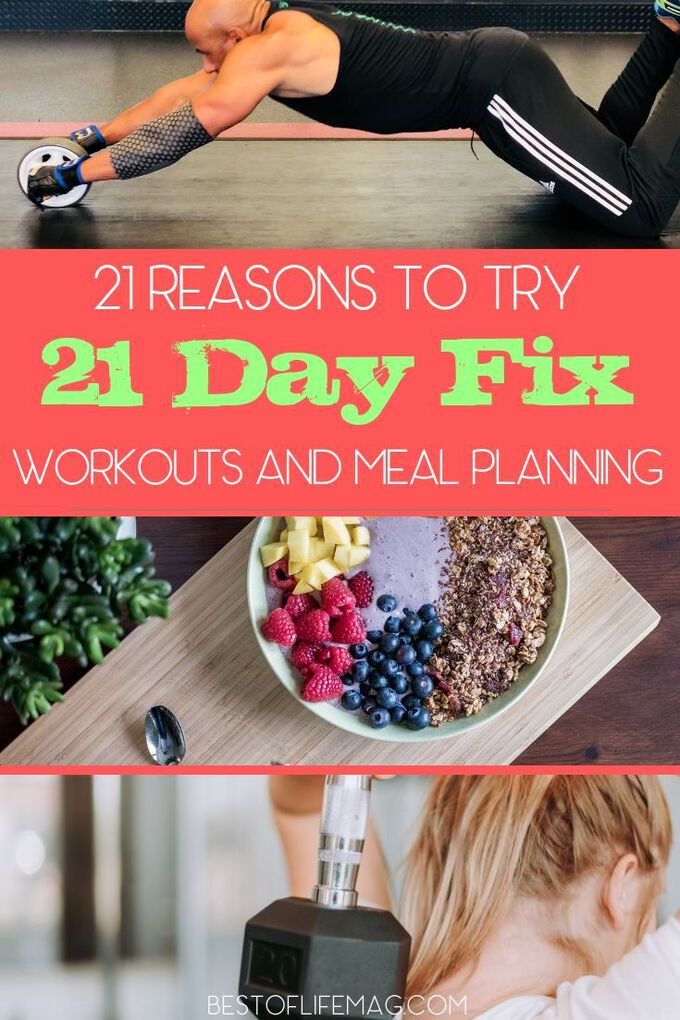 If you are still looking for a reason to get up and get started with your workout, here are 21 reasons to try 21 Day Fix workouts and nutrition plans. 21 Day Fix Workout Ideas | Fitness Plans | Beachbody Workouts | At Home Workouts | 21 Day Fix Tips |Autumn Calabrese Workouts #21dayfix #beachbody via @amybarseghian