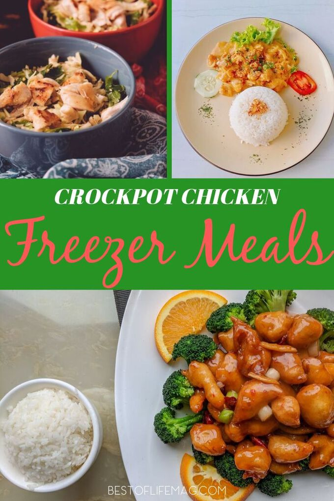 The best place to start with meal prep might just be with crockpot freezer meals with chicken that are easy and delicious. Slow Cooker Recipes with Chicken | Chicken Recipes Crockpot | Crockpot Freezer Recipes | Make Ahead Crockpot Recipes | Healthy Crockpot Recipes with Chicken #slowcooker #recipes via @amybarseghian