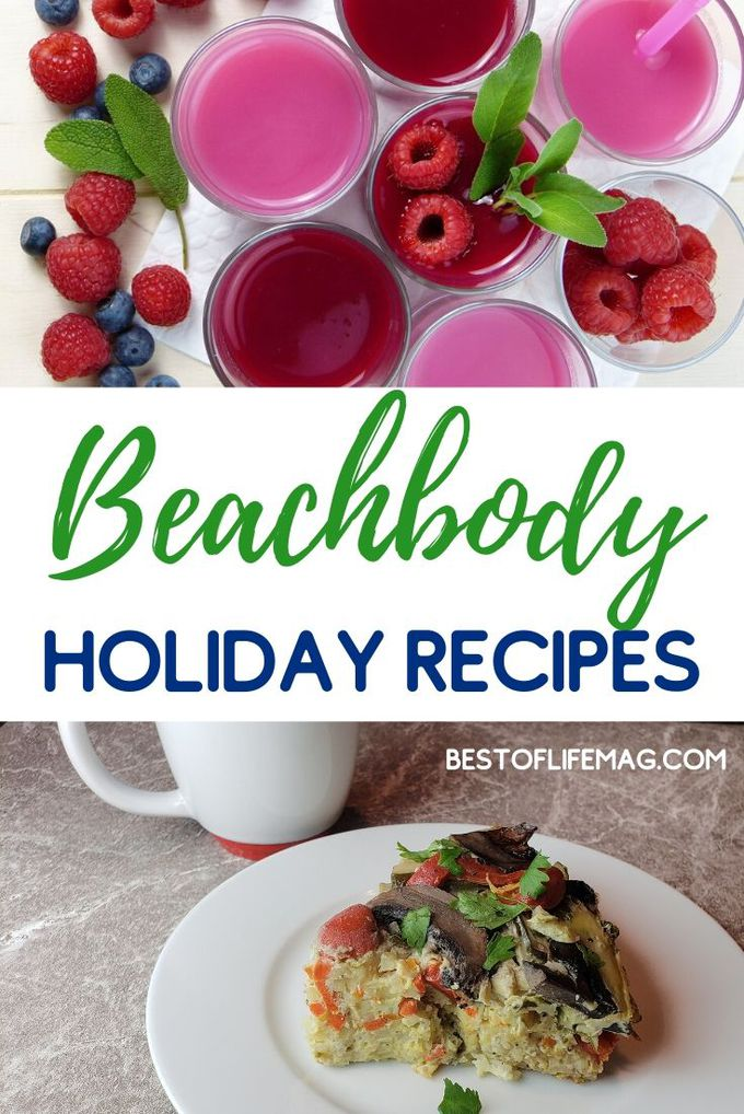 Beachbody holiday recipes can be utilized to help keep you on track and make healthy choices when you are surrounded by tempting foods. Beachbody Recipes | Holiday Recipes | Beachbody Seasonal Recipes | Healthy Recipes | Holiday Recipes for Weight Loss #beachbody #holidays