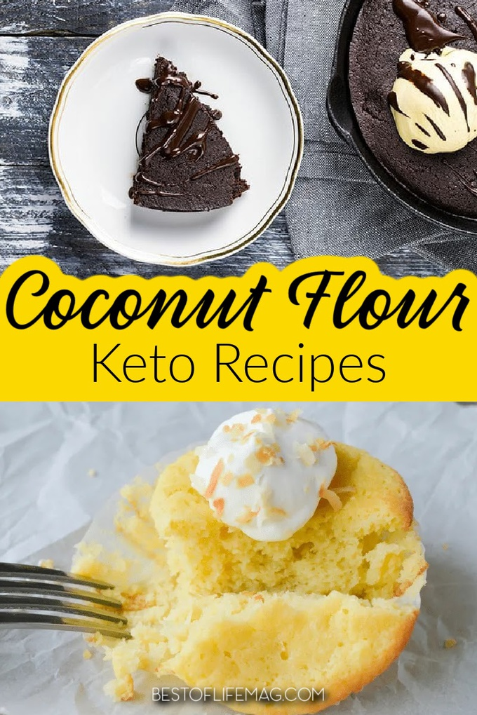You have a few choices of flour on a keto diet plan but people find that keto recipes with coconut flour are full of flavor while staying within their eating plan requirements. Low Carb Recipes | Keto Dessert Recipes | Keto Breakfast Recipes | Low Carb Dessert Recipes | Low Carb Breakfast Recipes | Low Carb Bread Recipes | Coconut Flour Recipes | Flour Alternative Recipes #ketorecipes #lowcarb via @amybarseghian