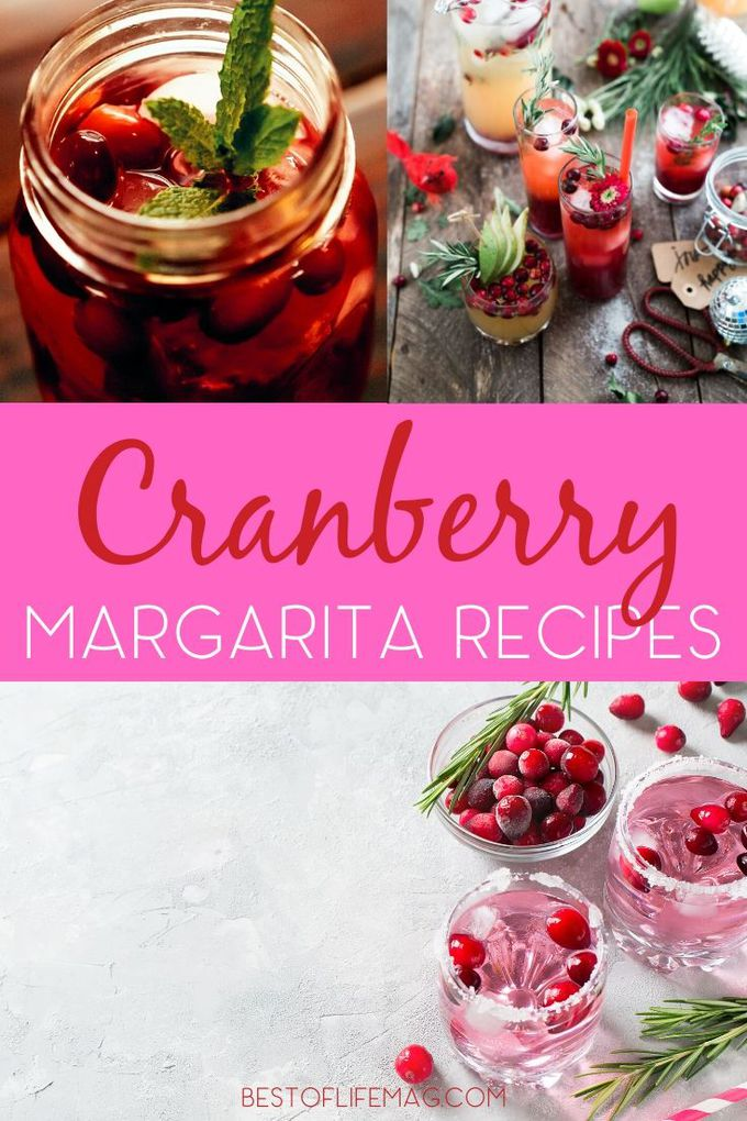 Cranberry margarita recipes could help you get into or enhance your holiday spirit and you can share them with family and friends, too! Holiday Party Recipes | Holiday Dinner Recipes | Christmas Cocktail Ideas | Holiday Cocktail Recipes | Holiday Margarita Recipe | Christmas Margarita Recipes | Recipes with Cranberries #holidays #cocktails via @amybarseghian