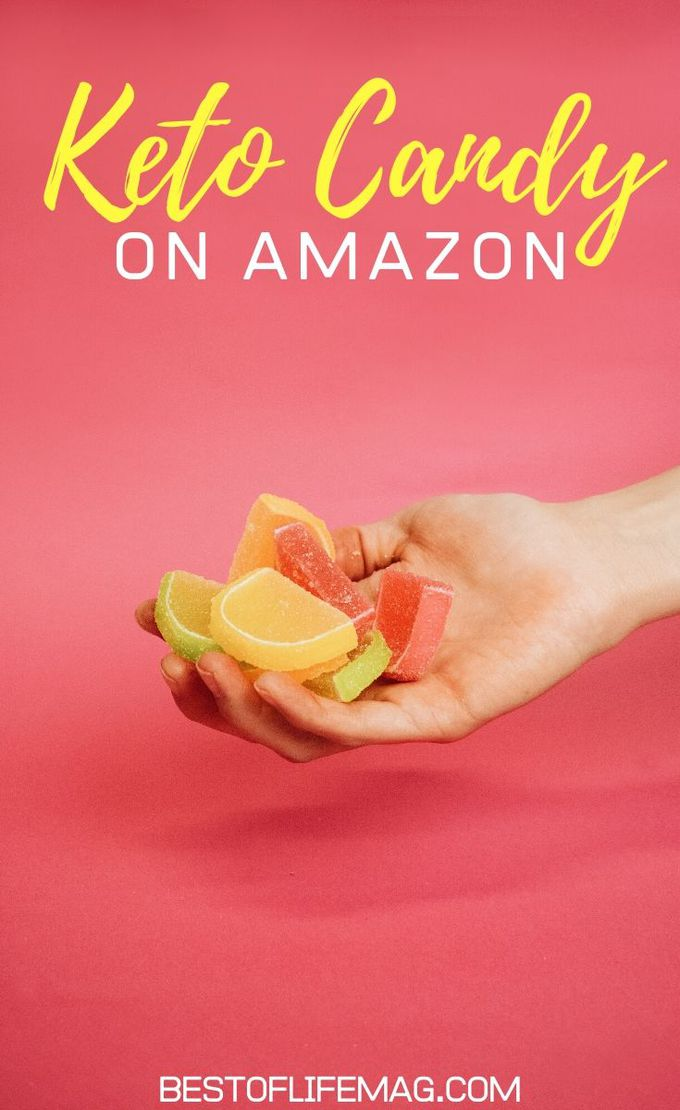 Just because you are on a keto diet does not mean that you don't have a little sweet tooth now or then. These keto diet candies on Amazon are delicious and will keep you on track with your keto lifestyle. Low Carb Snacks | Low Carb Sweets | Candy for Keto Diet | Keto Candy for Weight Loss | Keto Snacks on Amazon | Low Carb Snacks on Amazon #keto #candy