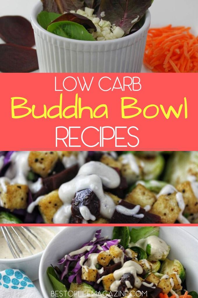 The growing popularity of Keto and other low carb diets have given low carb Buddha Bowls a new life and you a new option for a healthy meal! Weight Loss Recipes | Weight Loss Tips | Healthy Recipes | Buddha Bowl Ideas | Low Carb Recipes | Ketogenic Recipes | #LowCarb #Recipes #Lowcarbrecipes via @amybarseghian