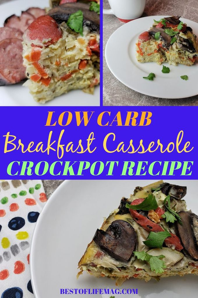 Making a low carb overnight breakfast casserole is a helpful way to make sure you have a healthy breakfast to start the next day! Plus, this healthy low carb crockpot recipe is easy to make!  Low Carb Crockpot Recipes | Low Carb Slow Cooker Recipes | Keto Crockpot Recipes | Keto Slow Cooker Recipes | Low Carb Breakfast Casserole Recipes | Healthy Breakfast Recipes | 2B Mindset Recipes  #crockpot #lowcarb via @amybarseghian
