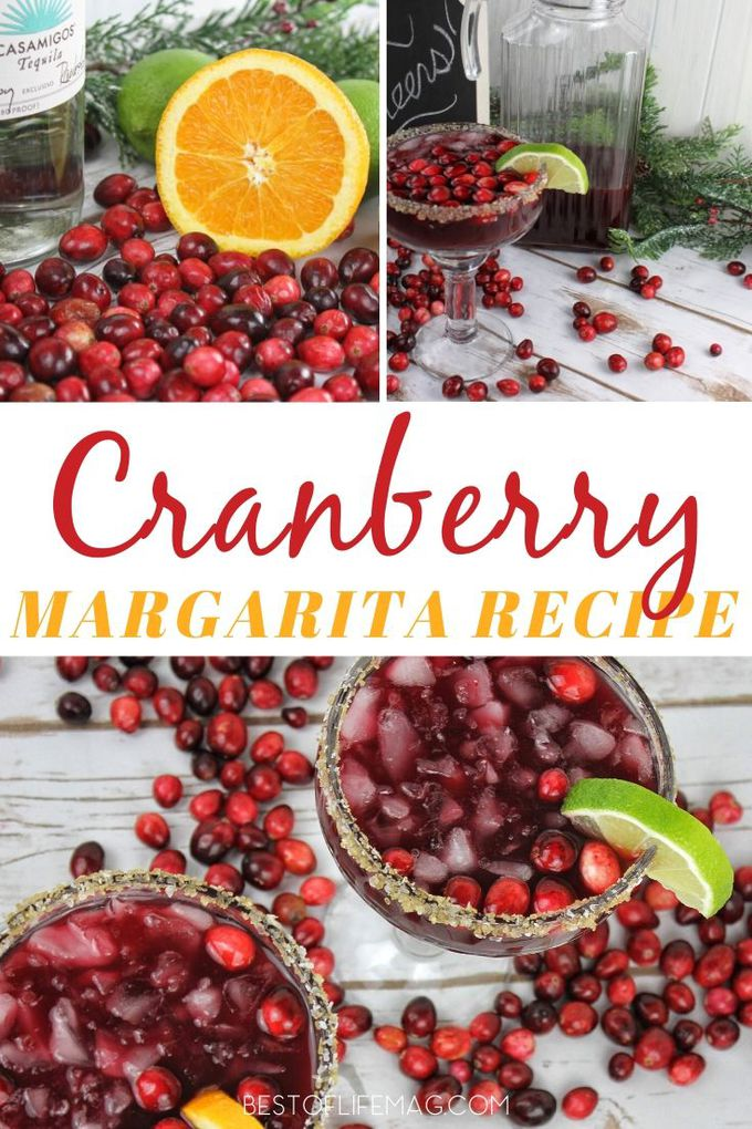 Cranberries lend themselves perfectly to the holidays and this cranberry margarita recipe balances tequila with seasonal cranberries perfectly! Holiday Cocktail Recipes | Holiday Party Recipe | Christmas Cocktails | Christmas Party Cocktails | Cocktails with Cranberries | Cranberry Drinks | Winter Margarita Recipes | Winter Cocktail Recipes #cocktails #Holidays #margaritas via @amybarseghian
