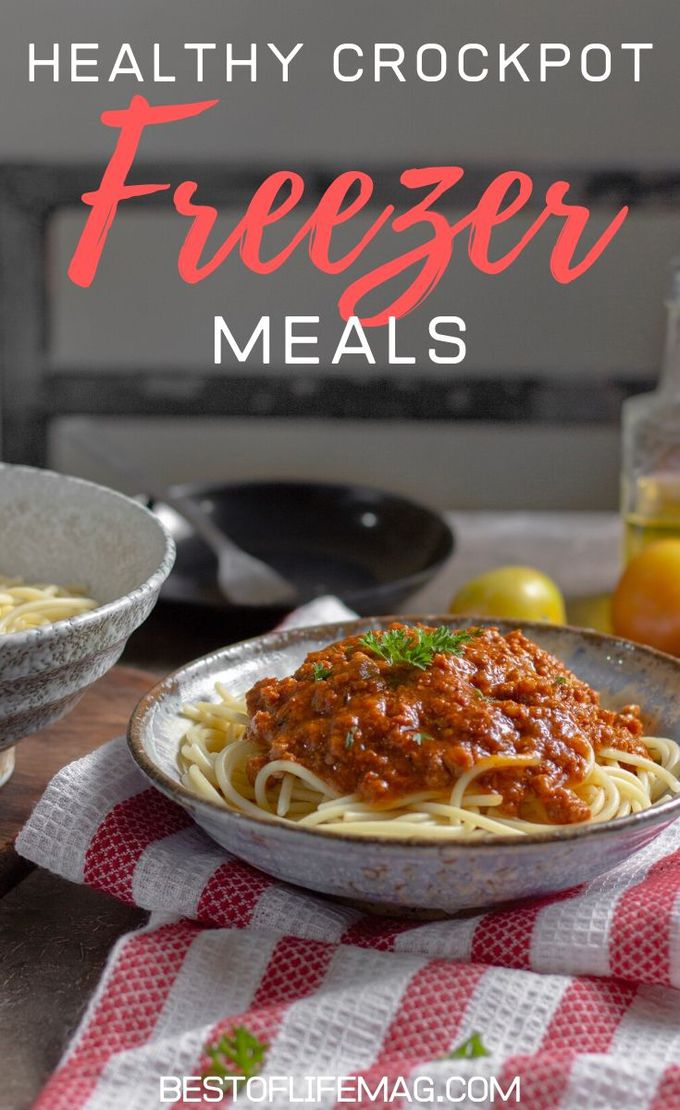 Time is very important and saving time in the kitchen is easier with these healthy crockpot freezer meals. Crockpot Recipes   Freezer Meals   Slow Cooker Freezer Meals   Healthy Crockpot Recipes   Slow Cooker Dump Recipes   Healthy Dinner Recipes   Healthy Lunch Recipes   Crockpot Soup Recipes #crockpot #freezermeals
