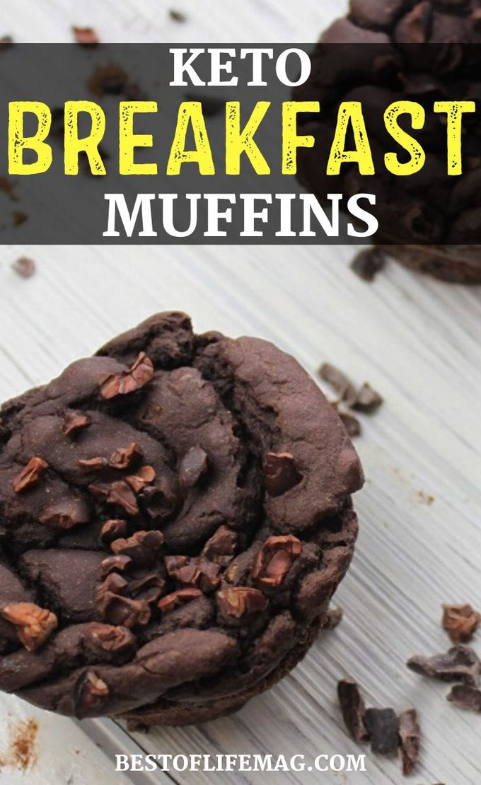 Now you can have your muffins and eat them too with these keto breakfast muffins that make for a great keto breakfast option. Keto Breakfast Recipes | Keto Recipes | Fat Burning Recipes | Low Carb Muffin Recipes | Low Carb Breakfast Ideas | Ketogenic Recipes | Keto Diet Recipes #keto #breakfast