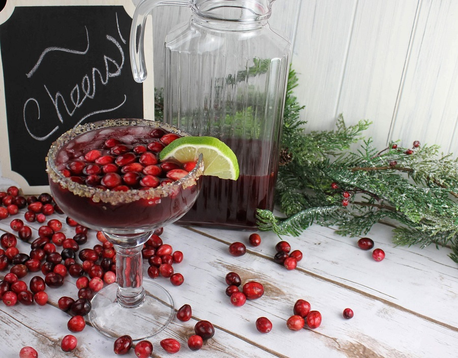 The easiest cranberry margaritas pitcher recipe is perfect for crowds at any time of the year and very easy to make so everyone can enjoy them easily. Frozen Margarita Pitcher Recipe | Flavored Margarita Pitcher Recipe | How to Make a Cranberry Margarita | How to Make a Margarita Pitcher | Cocktails for Holiday Parties