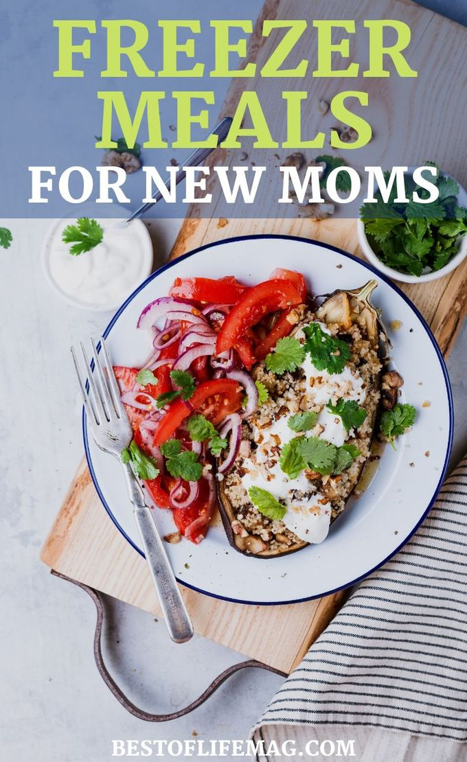 New moms don't have a lot of time to enjoy a great meal, let alone prepare a healthy and delicious dinner, but crockpot freezer meals for new moms will help. Parenting Tips for New Moms | Easy Slow Cooker Recipes| Make-Ahead Crockpot Recipes | Time Saving Recipes | Easy Dinner Recipes #crockpotrecipes #easyrecipes