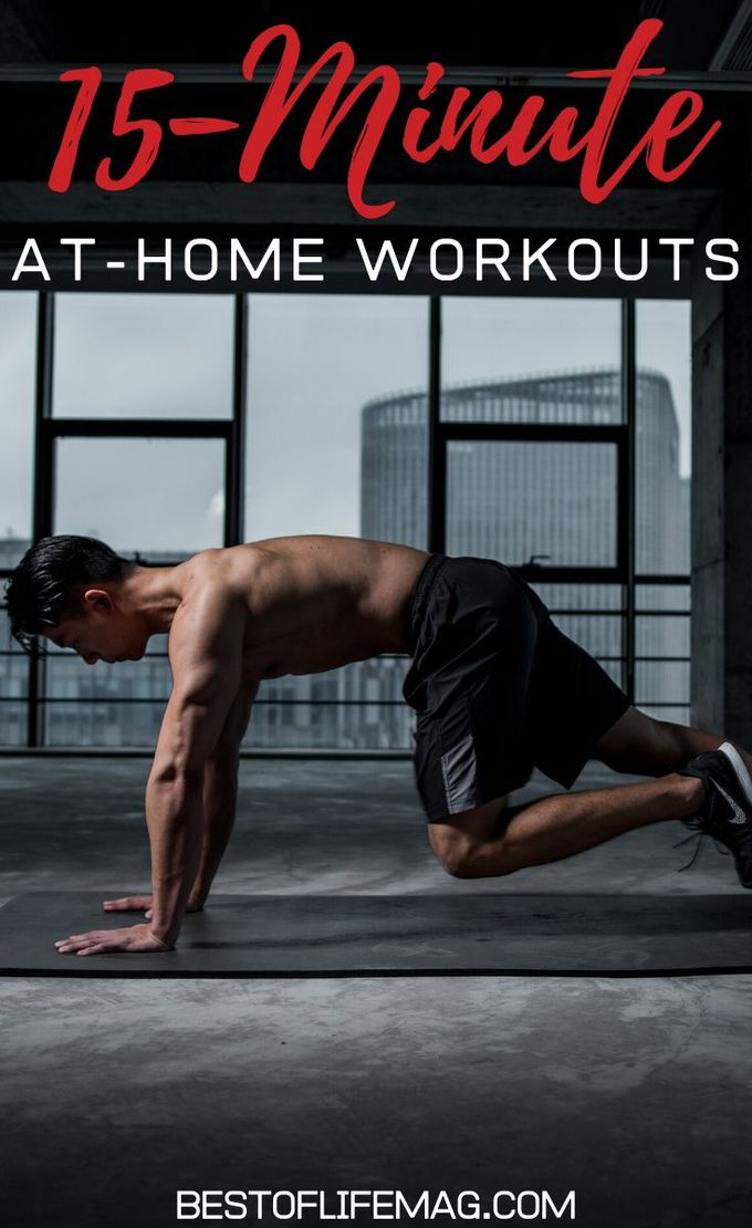 The goal of 15-minute at-home workouts is to make sure you don't skip physical activity due to time and help you stay on track with your health. Health Tips for men | Health Tips for Women | At Home Workouts Without Equipment | At Home Workout for Men | At Home Workout for Women | Quick Workouts | Exercise Ideas #health #fitness