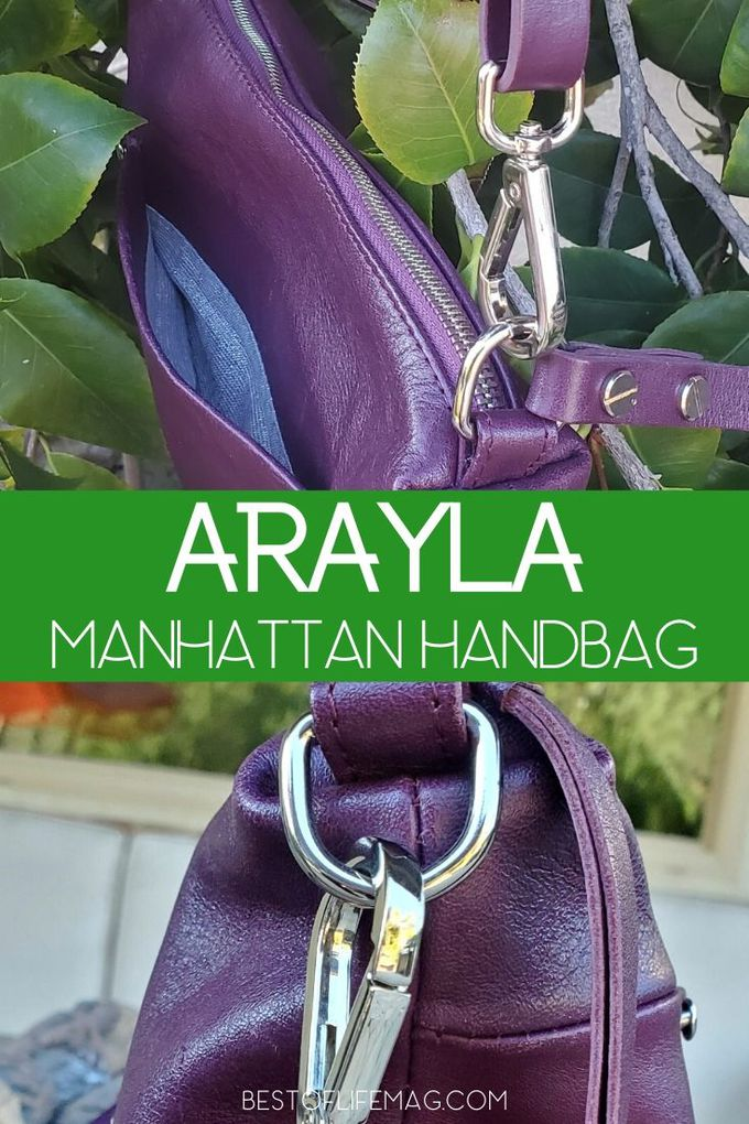 The Arayla Manhattan handbag is chic and functional making it a must have handbag and you can save 10% with this Arayla coupon code. Fashion Tips | Style Tips| Handbag Review | Arayla Handbags Review #handbags #fashion