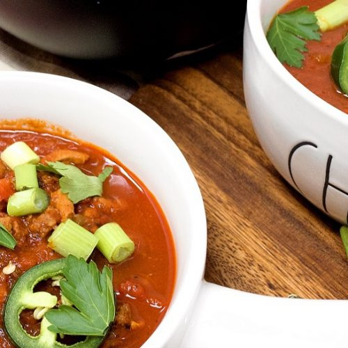 Instant Pot Keto Chili Without Beans Dairy Free Tbolm