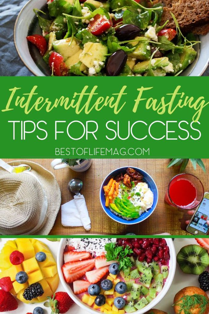 Your chances of reaching your weight loss goals will increase if you can implement the best intermittent fasting tips for success. Tips for Weight Loss | Intermittent Fasting Ideas | Intermittent Fasting Schedule | Intermittent Fasting How To | Healthy Weight Loss | Nutrition Plans for Weight Loss #intermittentfasting #weightloss