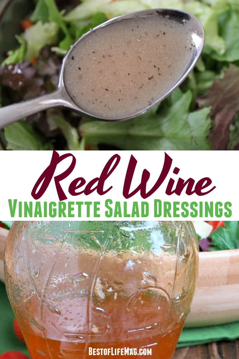 Take your salad recipes to the next level with a delicious homemade dressing! These red wine vinegar dressing recipes could help. Red Wine Vinegar Salad Dressing Healthy | Italian Red Wine Vinegar Dressing | Healthy Salad Dressing Recipes | Homemade Salad Dressing | Red Wine Vinegar Recipes #dinnerrecipes #healthyrecipes