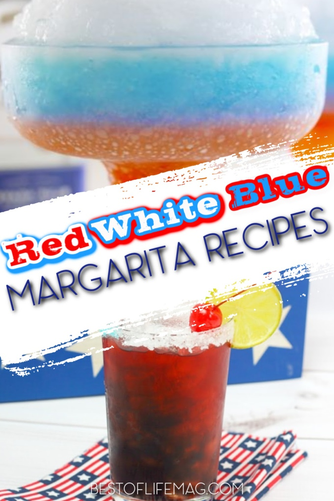 There is nothing like hosting a patriotic summer party filled with patriotic recipes, patriotic decor, and, of course, red white and blue margarita recipes. Tips for Patriotic Parties | Fourth of Jul Cocktails | 4th of July Recipes | Patriotic Recipes for Summer | Party Margarita Recipes | Margaritas for a Crowd #margaritas #cocktails  via @amybarseghian