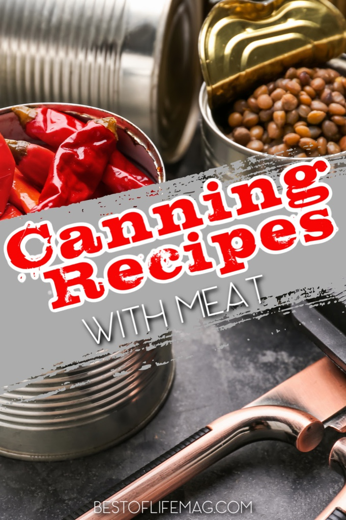 Canning recipes with meat offer a bit of variety to cooking and meal planning and help you store food for a rainy day. Tips for Canning | What is Canning | Canning Meat at Home | Food Storage Recipes | Pantry Recipes #recipes #canning via @amybarseghian