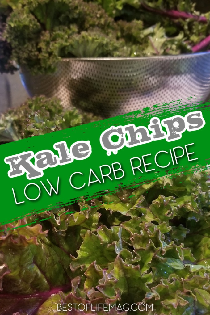 A low carb kale chips recipe can help you stay on track with your diet by providing you with a delicious and healthy weight loss snack. Low Carb Snacks | Low Carb Recipes | Keto Snack Recipes | Kale Recipes | Recipes for Weight Loss | Healthy Kale Recipes #lowcarb #recipes via @amybarseghian