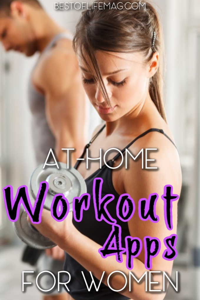 Use the best at home workout apps to stay on track with your fitness goals when you can't head to the gym with a trainer. At Home Workouts | At Home Workout Tips | Workout Tech for Beginners | Home Fitness Tips | Home Workout Ideas | Apps for Fitness | Workout Training Apps #fitness #workout via @amybarseghian