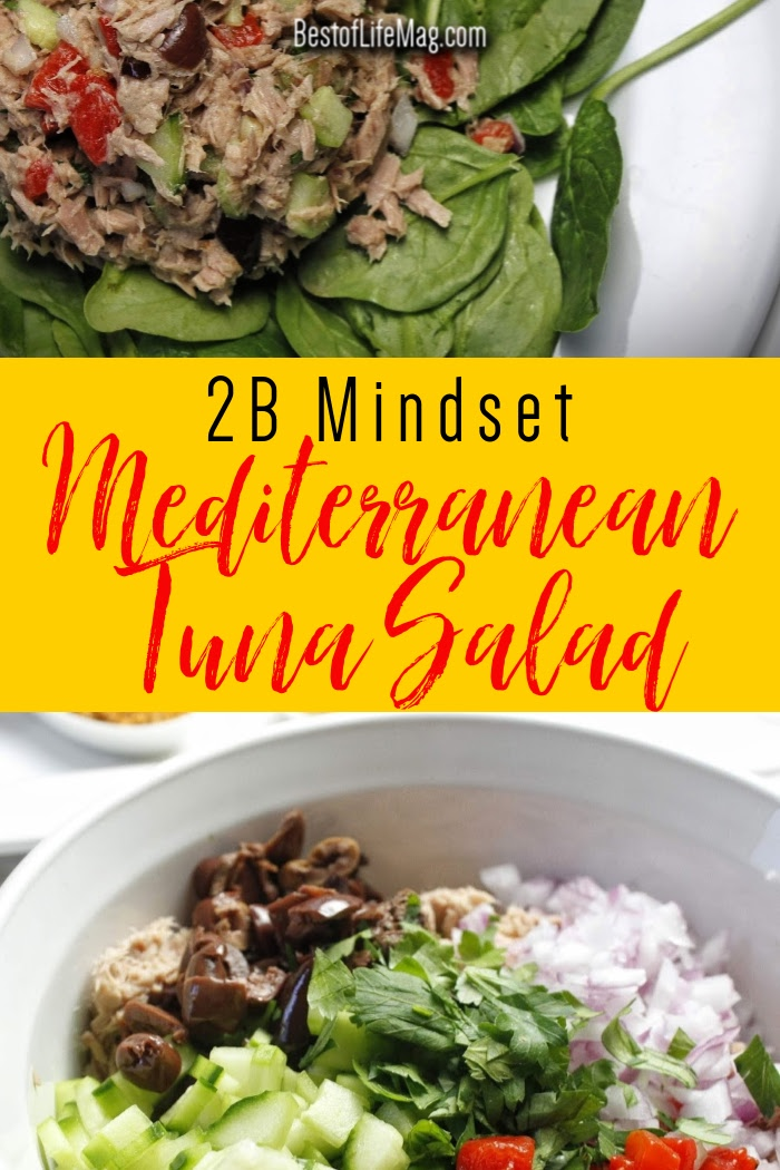 You can easily fit a healthy Mediterranean tuna salad into your 2B Mindset meal plan by Beachbody and stay on track with your diet without compromising flavor. Beachbody Salad Recipe | Beachbody Recipes | Tuna Salad Recipes for Weight Loss | Healthy Salad Recipes | 2B Mindset Recipes | 2B Mindset Meal Planning #2bmindset #beachbody via @amybarseghian