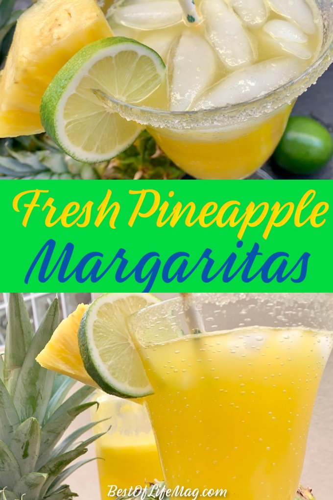 This fresh pineapple margarita recipe is a refreshing cocktail recipe that you can easily use as party drinks or as a drink to enjoy alone. Summer Cocktail Recipes | Party Drink Recipes | Summer Cocktails | Fresh Fruit Cocktails | Party Drink Ideas | Pineapple Drinks for Adults | Fruity Margarita Recipes #margarita #cocktail via @amybarseghian