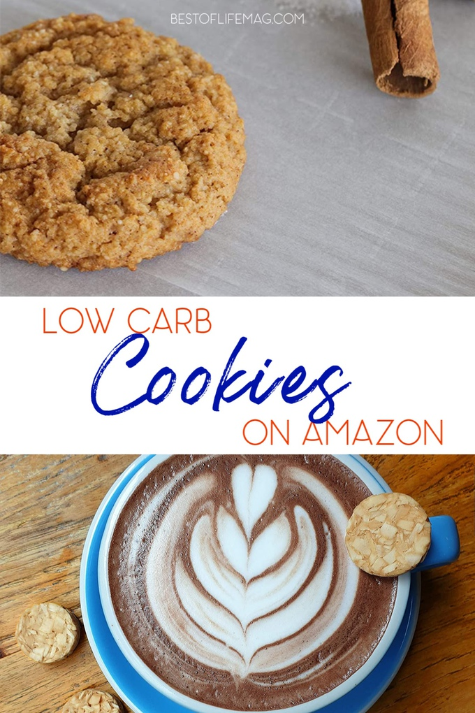 There low carb cookies on Amazon easily fit into a low carb diet and offer a delicious healthier dessert while staying on track with your weight loss. Low Carb Snacks Amazon | High Key Cookies | Weight Loss Snacks on Amazon | Low Carb Desserts | Low Carb Diet Tips | Easy Low Carb Foods | Weight Loss Tips | Low Carb Shopping List #lowcarb #cookies