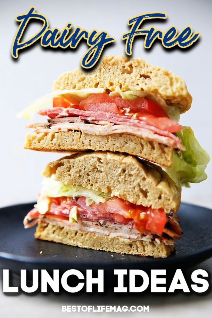 These dairy free lunch ideas are the best food allergy recipes and are easy to weave into a healthy diet. Dairy Free Recipes | Recipes without Dairy | Recipes that are Dairy Free | Food Allergy Recipes | Dairy Free Lunch Recipes | Dairy Allergy Diet | How to Go Dairy Free #dairyfree #lunches via @amybarseghian